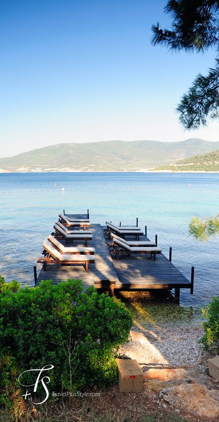 Photos by T+S: Amanruya, Bodrum | Luxury Hotels Travel+Style