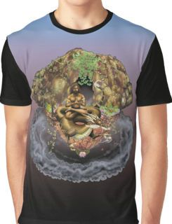 Mystic and the Cave of Dreams Graphic T-Shirt