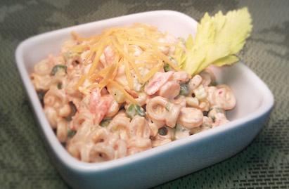 Smoked cheddar pasta salad (tastefully simple) http://www.tastefullysimple.com/web/ewills