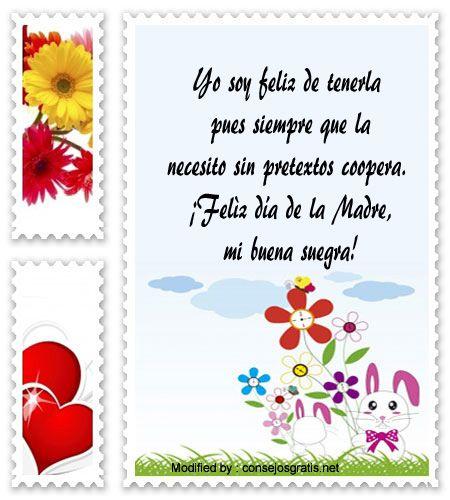 sms para el dia de la Madre,textos para el dia de la Madre,dedicatorias para el dia de la Madre: http://www.consejosgratis.net/frases-para-tu-suegra-en-el-dia-de-la-madre/