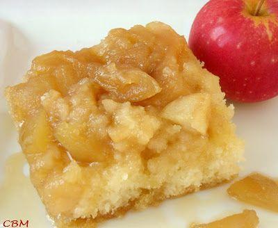 Dans la cuisine de Blanc-manger: Gâteau renversé au sirop d'érable et aux pommes