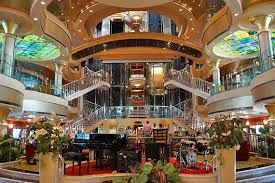 Interior of Norwegian Breakaway
