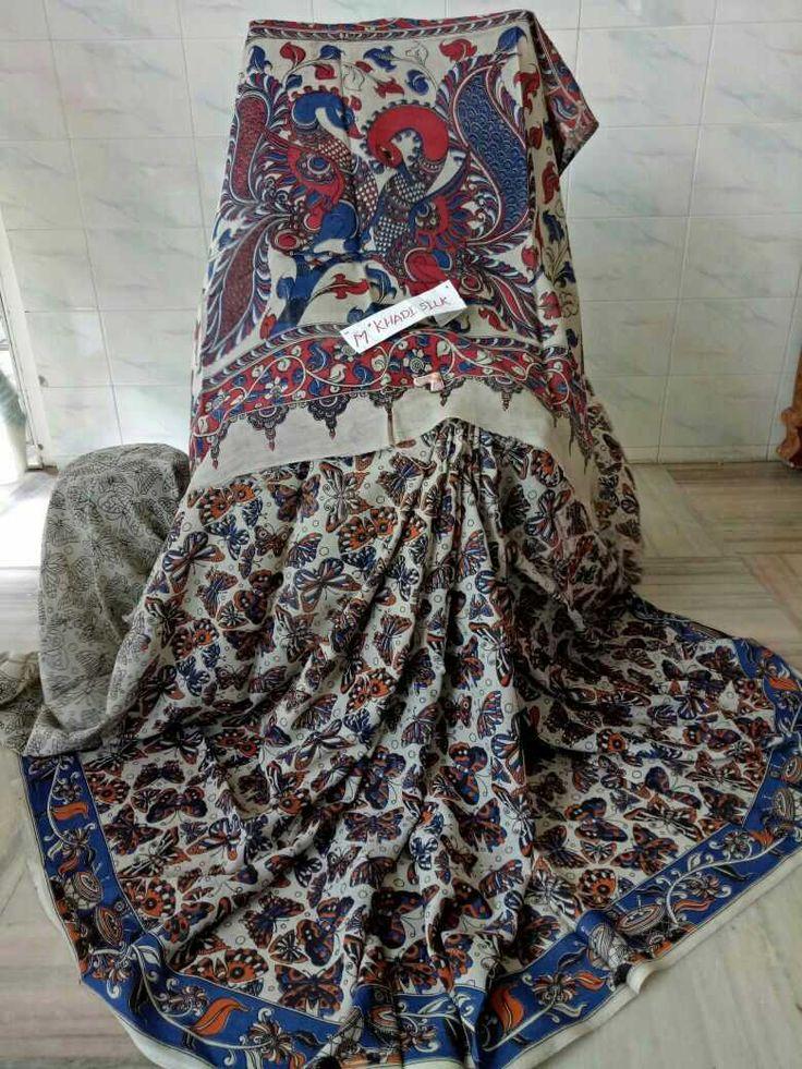 Kalamkari silk cotton sarees 004
