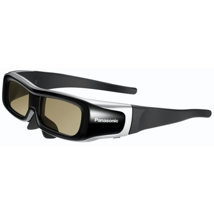 PANASONIC ADJUSTABLE ACTIVE SHUTTER 3D GLASSES.     #panasonic #3dGlasses