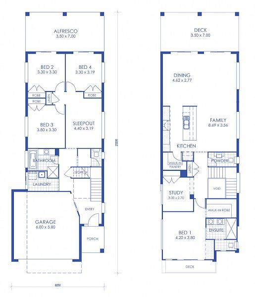 The Breeze Lite Northview home design by McCarthy Homes