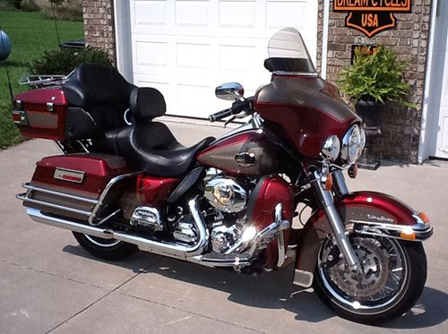 Used Harley Davidson for sale. 2009 Harley Davidson Ultra Classic FLHTCU for sale. $18,250 Marshfield, Missouri #usedharleys #harleysforsale #hd4sale