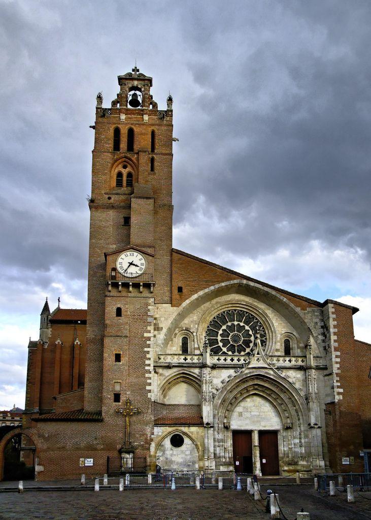 Cathédrale Saint-Etienne de Toulouse, France. Founded 3rd-century