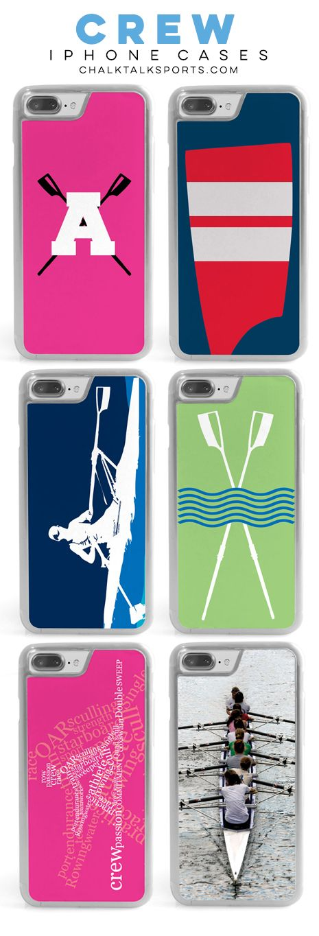 Our classic iPhone cases for rowers are a perfect end-of-season, rower birthday, or even coach gifts! With custom and personalized options, we know you'll find the perfect option for anyone you're gifting for!