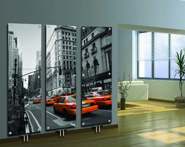 Современные стеклянные радиаторы – красиво и выгодно :: Фото красивых интерьеров