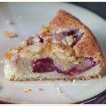 Rustic Italian: Plum-Almond Cake - Torta Di Prugne E Mandorle