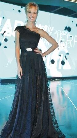 Mariana Fabbiani en los Martin Fierro 2012