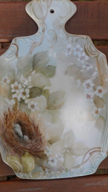 Porcelain artist June Watson from Houston, Texas