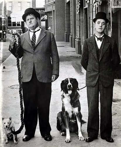 Two Minds Without a Single Thought (Stan Laurel and Oliver Hardy)