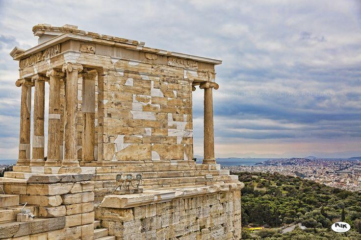 Temple to Nike Athena - Acropolis, Athens, Greece. Winner of Urban Athens…