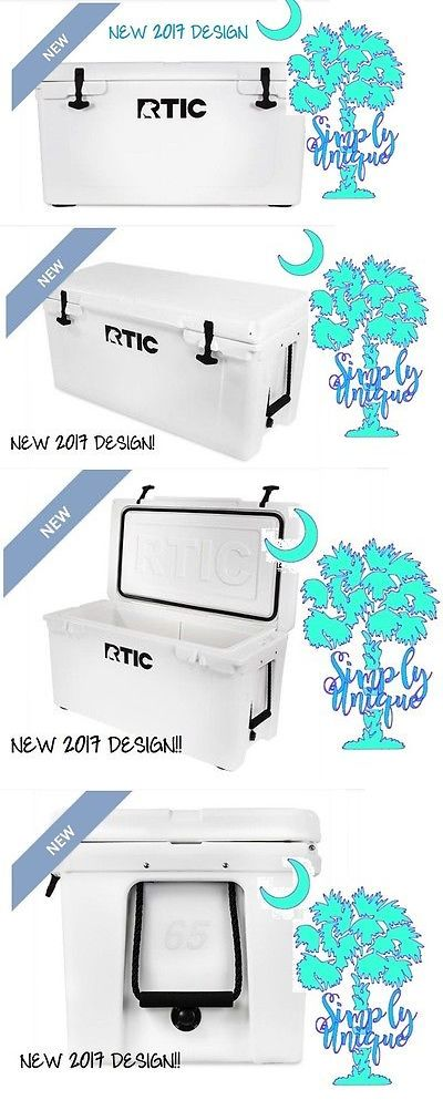 Camping Ice Boxes and Coolers 181382: *New 2017 Design Rtic 65 Cooler Artic White Beer Bottle Storage *Free Shipping! -> BUY IT NOW ONLY: $254.99 on eBay!