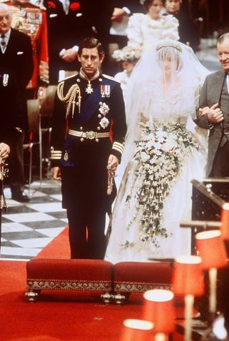 Princess Diana & Prince Charles' Wedding