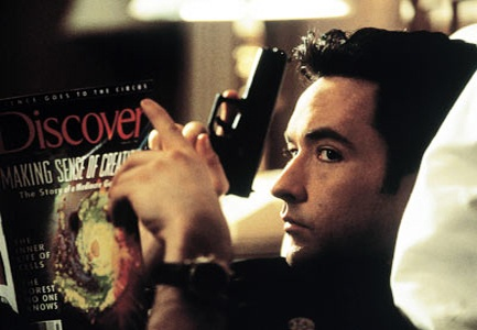 Grosse Point Blank & John Cusack -- an all time classic.  He was so cool in this movie.