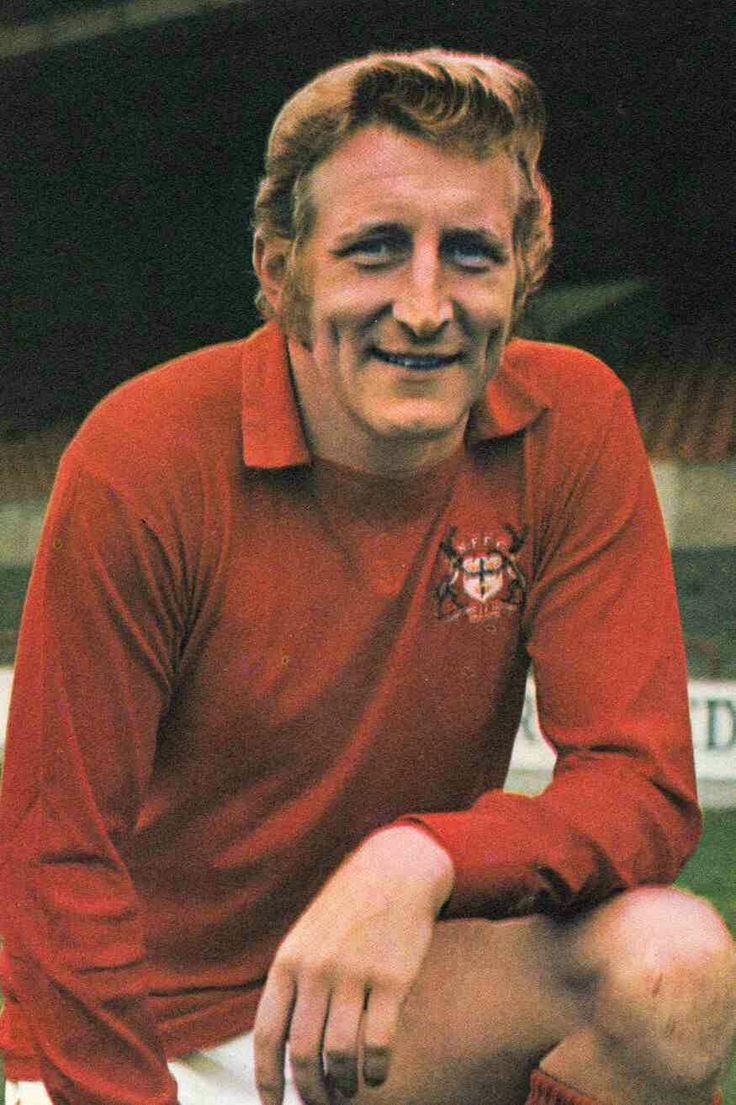 Tommy Gemmell of Nottingham Forest in 1973.
