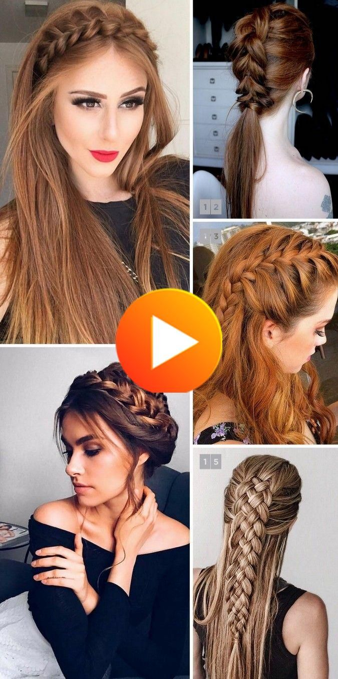 Pinterestの上の美しいと人気の三つ編みと22件のヘアスタイル In 2020 Cool Braid Hairstyles Long Hair Styles Hair Styles