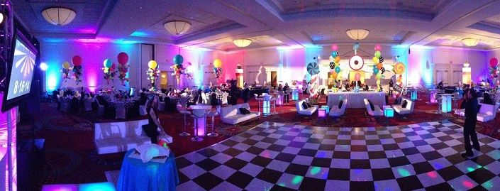 Black & White Dance Floor Rentals CT, MA, NY & NJ | Boppers Events