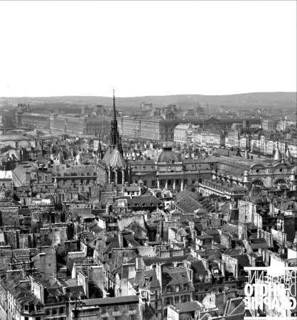 """Medieval"" Paris Before Baron Haussmann's Transformation 8"
