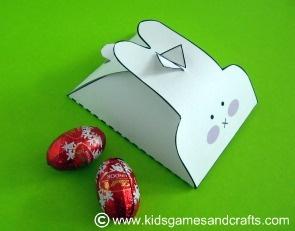 DIY Bunny Box Template