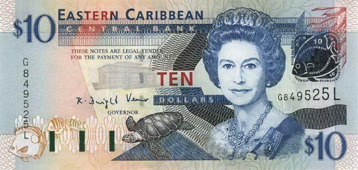 10 Долларов (2003) Британские Виргинские острова (British Virgin Islands) Северная Америка