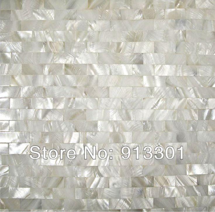100% natural shell mosaic tiles design seashell subway tile discount tile  backsplash wholesale mother of - 25+ Best Ideas About Discount Tile Flooring On Pinterest