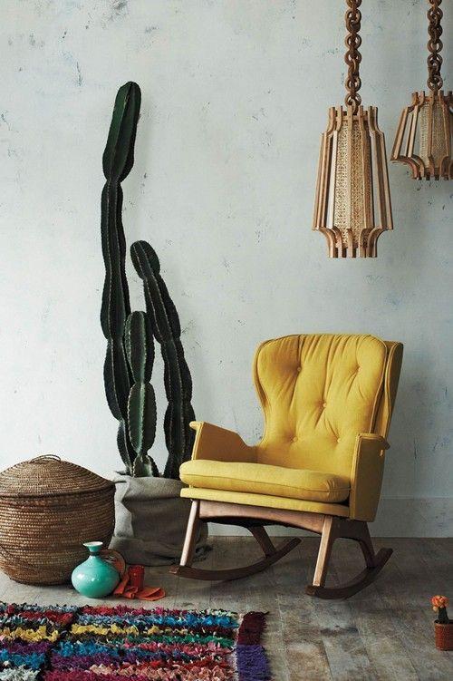 Déco verte et jaune : Tendance tropicale et exotique et … une touche de Brésil dans la maison !