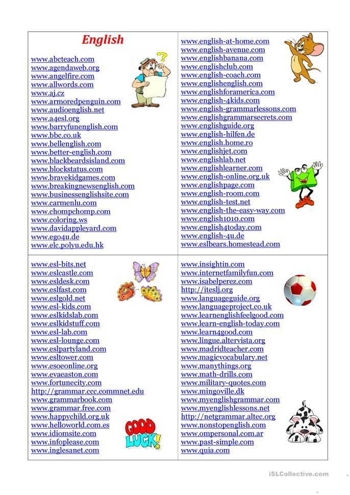 English Sites English Esl Worksheets For Distance Learning And Physical Classrooms In 2020 English Study English Language Learning English Learner