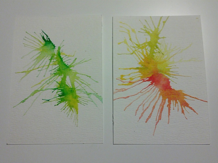 Happy new year fireworks set of 2 cards. €12,00, via Etsy.
