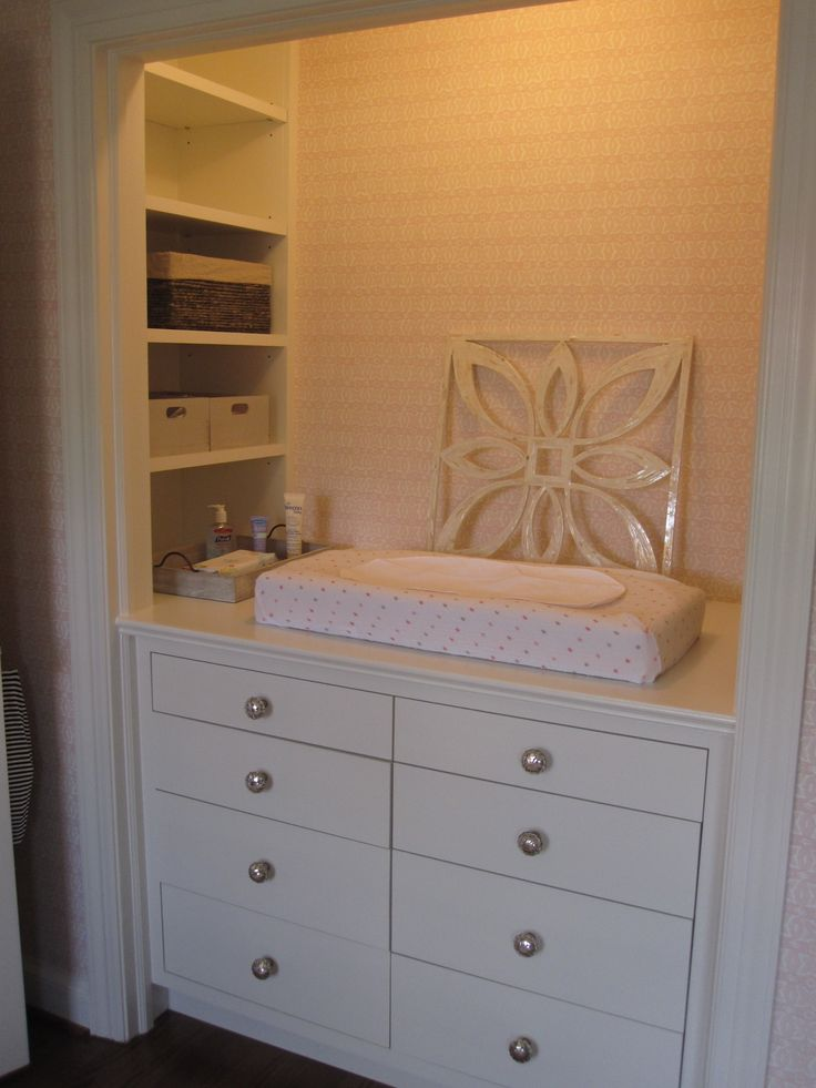 Changing Table In Closet Susan Beimler Maison