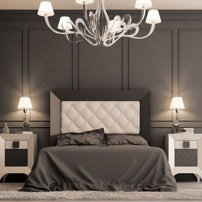 25 Wall behind bed Pinterest