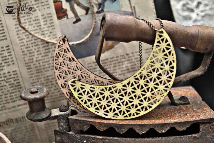 Laser Cut Wooden Necklace