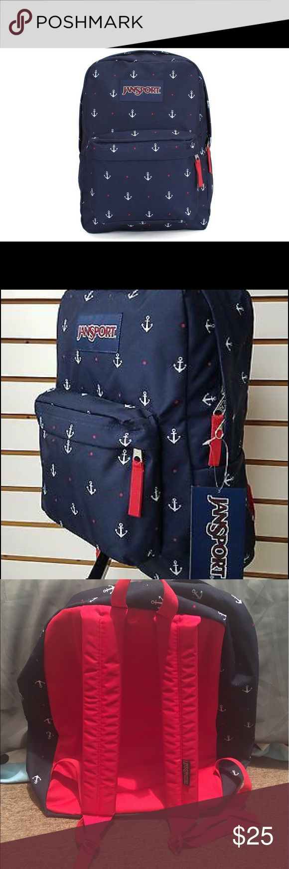 jansport anchor backpack completely new! jansport anchor backpack completely new! Never been use, very cute! Jansport Bags Backpacks
