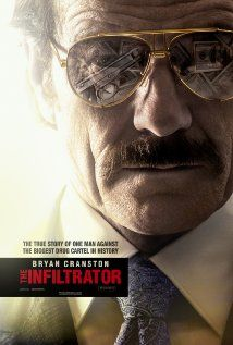 The Infiltrator (2016) R | 127 min | Biography, Crime, Drama | 13 July 2016 (USA) ```````A U.S. Customs official uncovers a money laundering scheme involving Colombian drug lord Pablo Escobar. ~~~Exciting drama with great performances by this brilliant cast...led by Bryan Cranston & Diane Kruger~~~I'd recommend it!