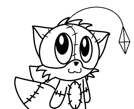 Scary Sonic Exe Coloring Pages Pictures To Pin