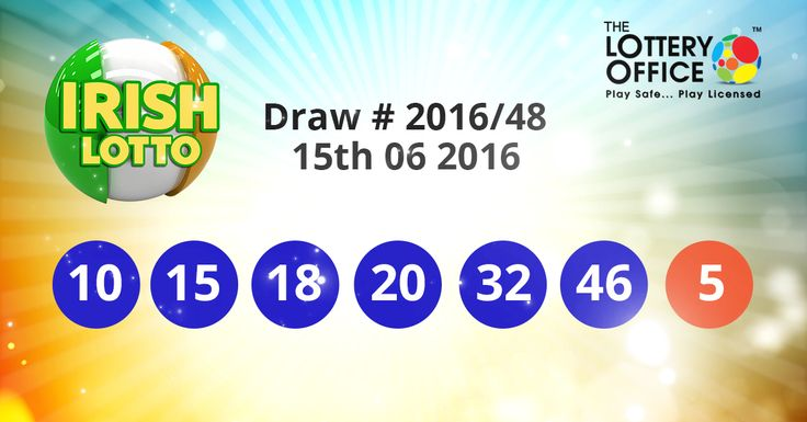 Irish Lotto winning numbers results are here. Next Jackpot: €5.5 million #lotto #lottery #loteria #LotteryResults #LotteryOffice