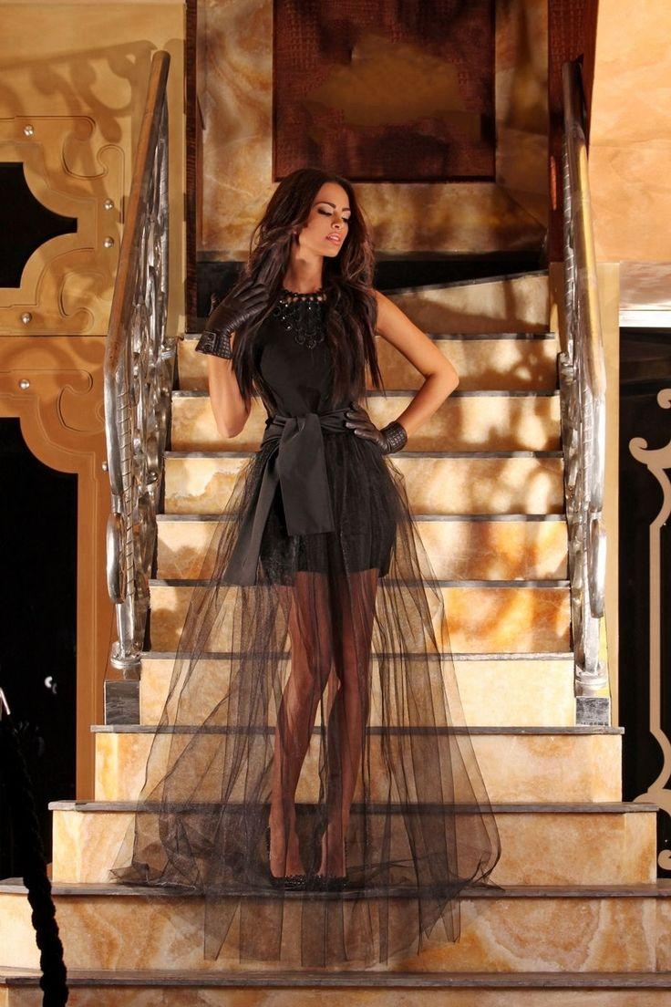 Gracia Dress in Black - Baronesa Fashion House