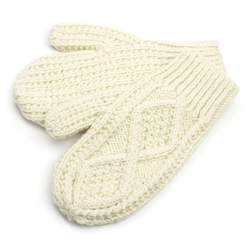 Adults Mittens Natural $16.05