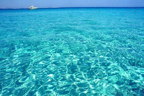The sea of Salento– Lecce – Puglia - Italy