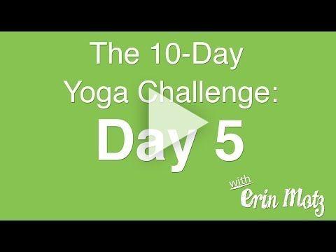 10 Day Yoga Challenge: Day 5 ABs- sun salutations