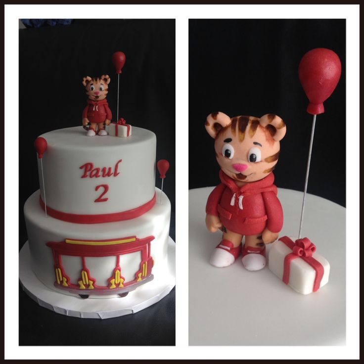 """Gâteau sur le thème """"Dany le tigre"""""""