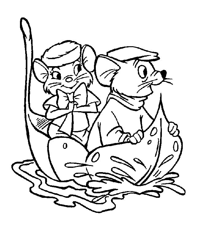 The Rescuers Coloring Pages