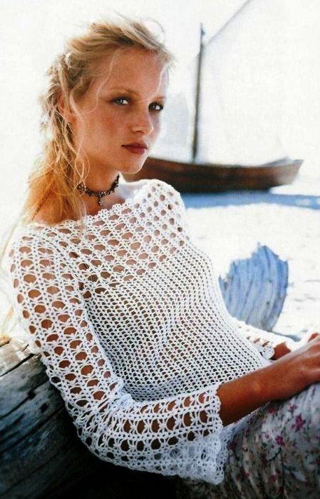 bluzka | Kraina wzorów szydełkowych...Land crochet patterns..
