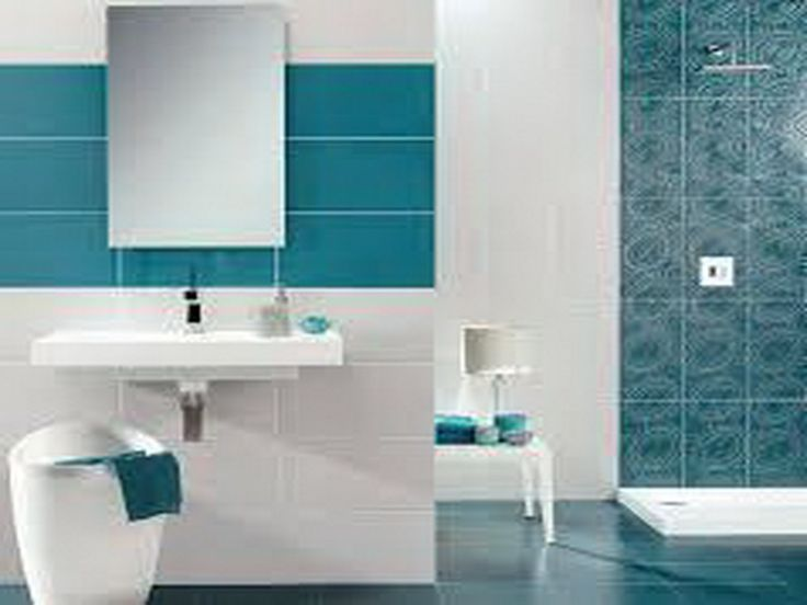 Modern Turquoise Tiles Turquoise Bathroom With Modern Design White And Turquoise Bathrooms
