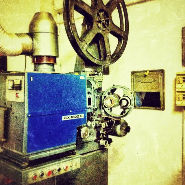 Old Style Cinema..