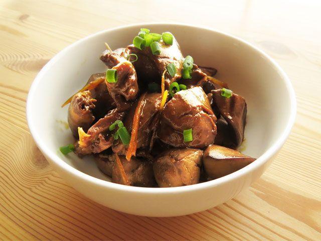 鳥肝煮/鳥レバーの甘辛煮
