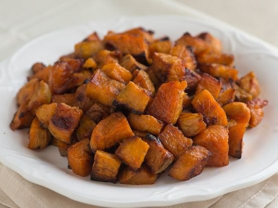 Cumin Roasted Sweet Potatoes | Yummo | Pinterest