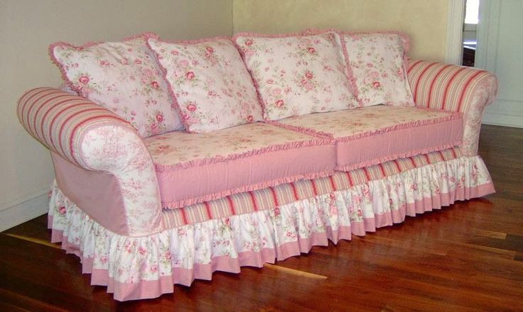 17 Best Images About Shabby Chic Sofa On Pinterest